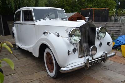Lot 26 - 1951 Rolls-Royce Silver Wraith Limousine