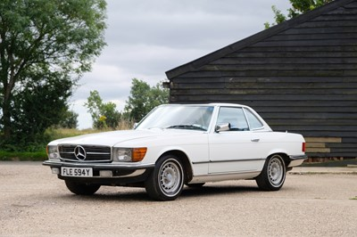Lot 88 - 1983 Mercedes-Benz 380SL
