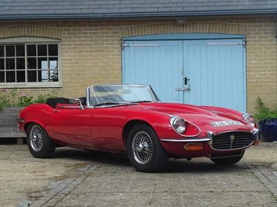 Lot 82 - 1972 Jaguar E-Type V12