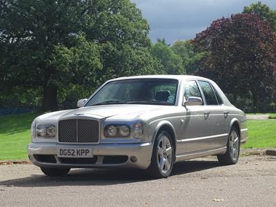 Lot 90 - 2002 Bentley Arnage T