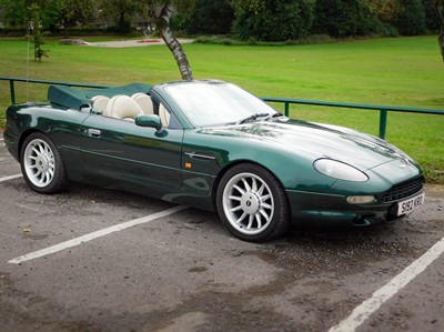 Lot 1998 Aston Martin DB7 Volante