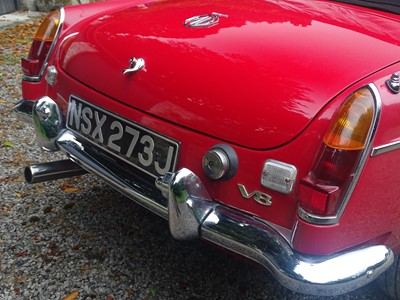 Lot 59 - 1970 MG B V8 Roadster