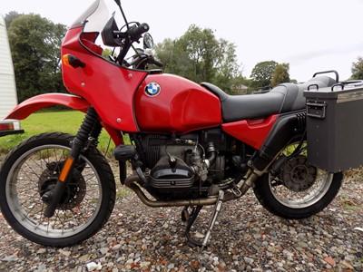 Lot 1990 BMW R80GS