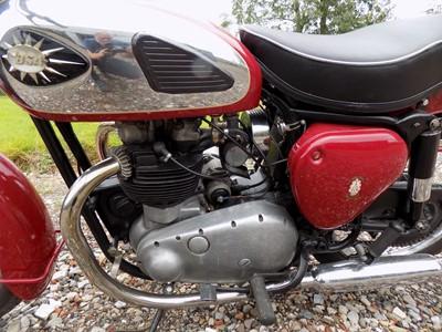 Lot 1961 BSA A7