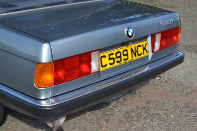 Lot 67 - 1986 BMW 318i