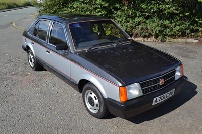 Lot 30 - 1984 Vauxhall Astra L 1300 S Celebrity