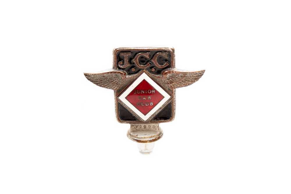 Lot 1 - Brooklands Junior Car Club Members Badge