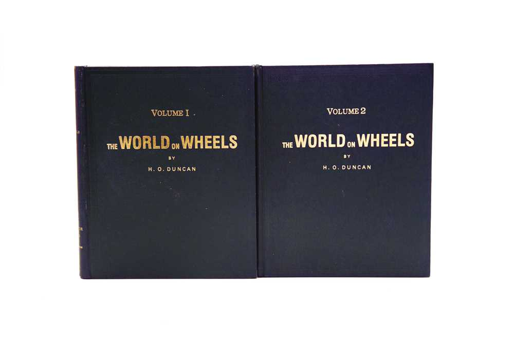 Lot 11 - 'The World On Wheels' by H.O. Duncan