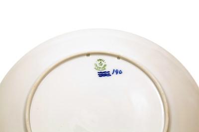 Lot 12 - Dansk Automobil Klub (1901-1926) Royal Copenhagen Ceramic Plate