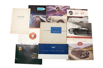 Lot 18 - Quantity of Jaguar Sales Brochures