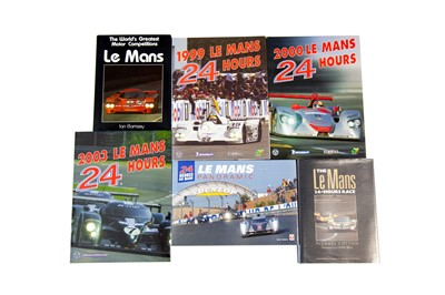 Lot 19 - Six Titles Relating to Motorsport at Le Mans