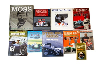 Lot 25 - Ten Titles Relating to Stirling Moss