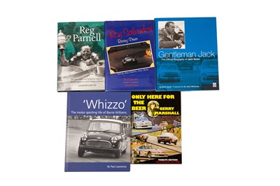 Lot 26 - Five Books Relating to Iconic British Racing Drivers