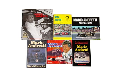 Lot 27 - Six Titles Relating to Mario Andretti