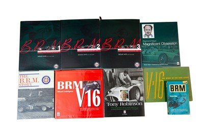 Lot 31 - Nine Titles Relating to the BRM Marque