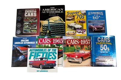 Lot 32 - Nine American Motoring Titles