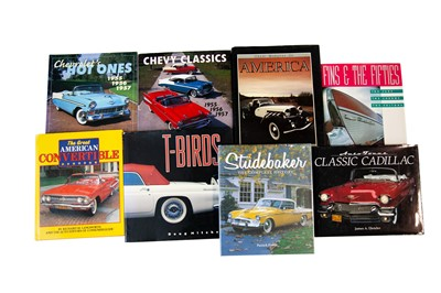 Lot 33 - Eight Titles Relating to US Car Marques