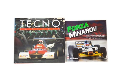 Lot 35 - Two Motor Racing Marque History Titles