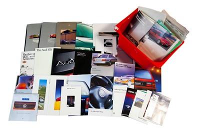 Lot 41 - Large Quantity of German Sales Brochures