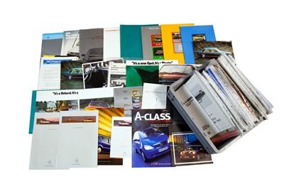 Lot 42 - Quantity of German Sales Brochures