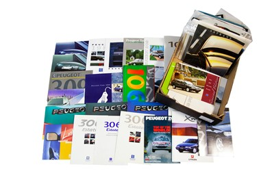 Lot 44 - Large Quantity of French Sales Brochures