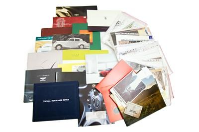 Lot 45 - Quantity of British Sales Brochures