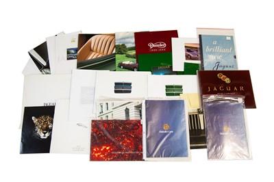 Lot 47 - Quantity of Jaguar and Daimler Sales Brochures