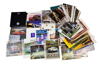 Lot 48 - Quantity of French Sales Brochures