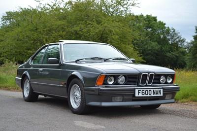 Lot 1988 BMW 635 CSi Highline