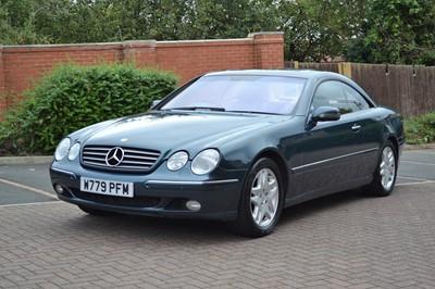 Lot 2000 Mercedes-Benz CL 500