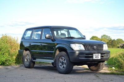 Lot 23 - 2000 Toyota Land Cruiser Colordao FX