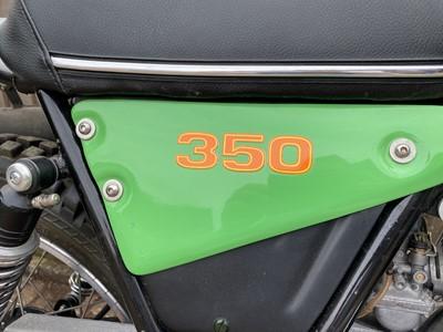 Lot c.1977 OSSA 350 Trials