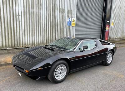 Lot 1982 Maserati Merak SS