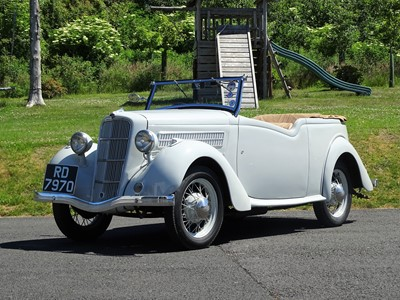 Lot 1936 Ford 10 Model CX De Luxe Touring