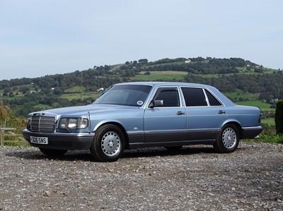 Lot 1986 Mercedes-Benz 560 SEL