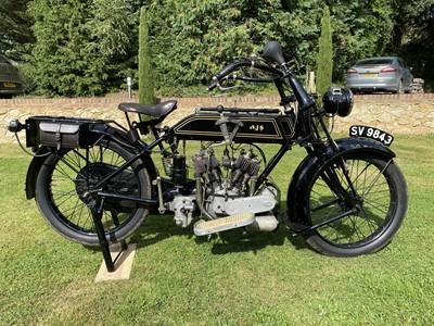 Lot 1920 AJS Vee Twin