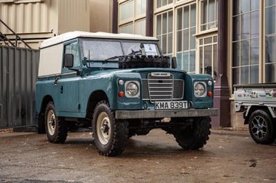 Lot 4 - 1979 Land Rover Series III 88