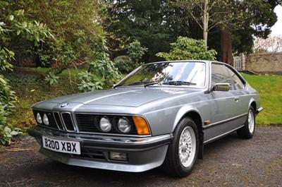 Lot 25 - 1985 BMW 635CSi