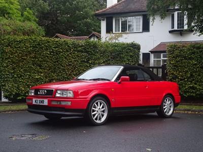 Lot 3 - 1996 Audi 80 2.6 Cabriolet