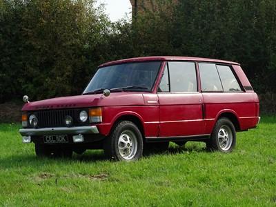 Lot 21 - 1971 Range Rover 'Two Door'