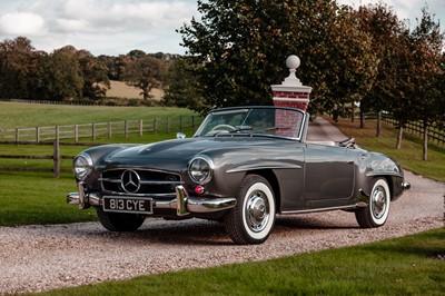 Lot 1957 Mercedes-Benz 190SL
