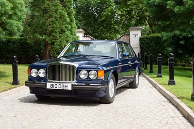 Lot 1990 Bentley Mulsanne S