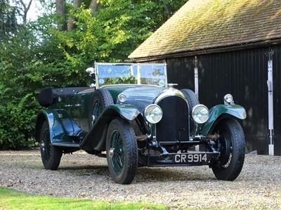 Lot 1925 Bentley 3 Litre Dual Cowl Tourer