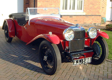 Lot 60-1933 Alvis Speed 20 SA Tourer