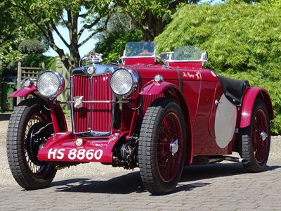 Lot 52-1936 MG PB Supercharged