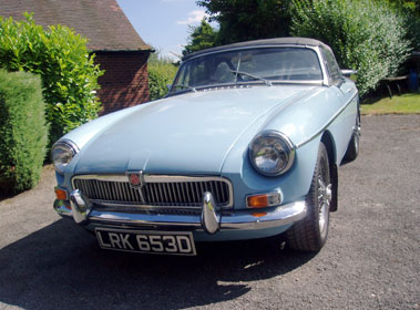Lot 14-1966 MG B Roadster