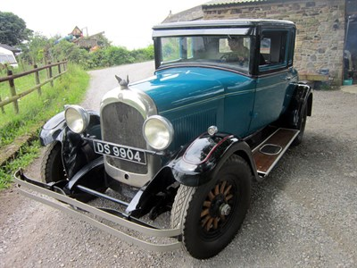 Lot 49-1926 Chrysler Series 60 Coupe