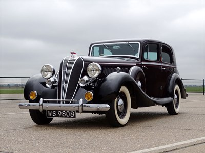 Lot 52-1936 Hudson Eight Special Sports Saloon