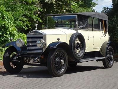 Lot 96-1928 Rolls-Royce 20hp Tourer