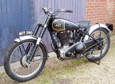 Lot 88-1948 AJS 18T